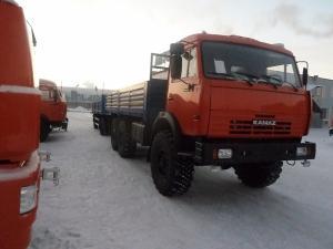 Автовышка Socage DAJ-337 на шасси КамАЗ-43118